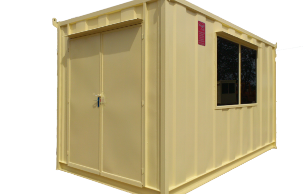 Beige Storage Container