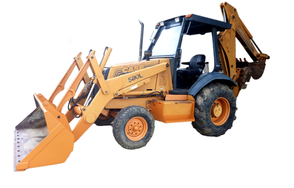 Case 580 L Backhoe